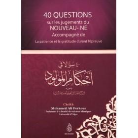 40 QUESTIONS SUR LES JUGEMENTS DU NOUVEAU NE
