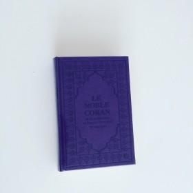 Coran Arabe Francais Violet