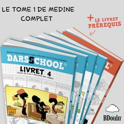 PACK DARSSCHOOL TOME 1 + PREREQUIS
