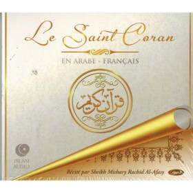 CD - Le Saint Coran Arabe-Francais - Mishary Rachid Al-Afasy