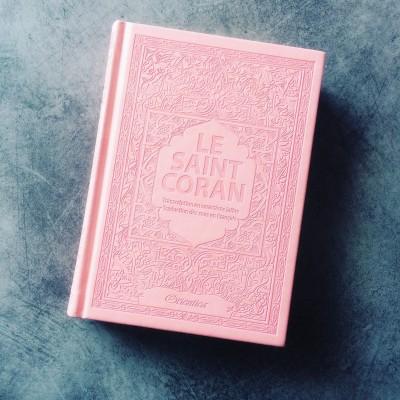 Coran Arabe / Francais / Phonetique (4 Couleurs au choix) lecture HAFS Format moyen - Orientica