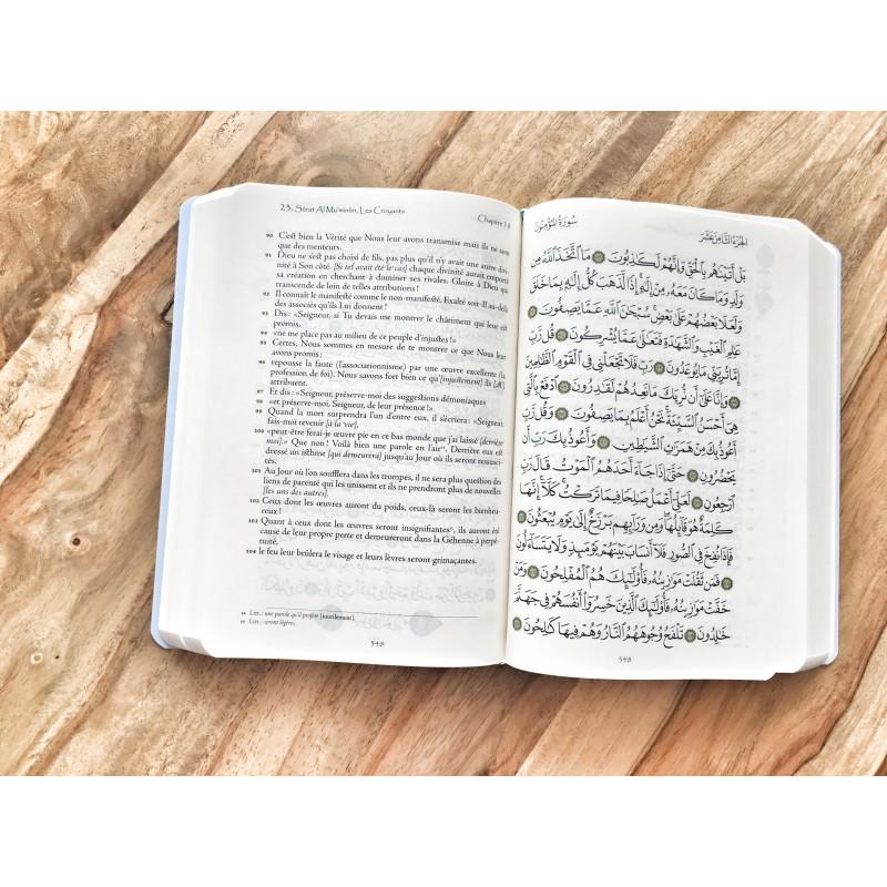 Coran Arabe Francais couverture mi souple
