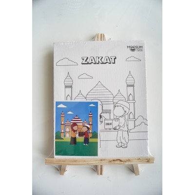 Toile à Peindre - Zakât - Mooslim Toys