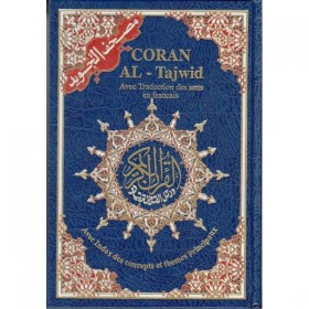 Grand Coran Tajwid avec traduction des sens en francais
