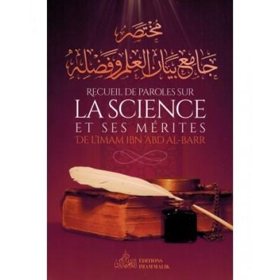 Recueil de Paroles sur La Science et Ses Mérites - Ibn Abdel Barr - Edition Imam Malik