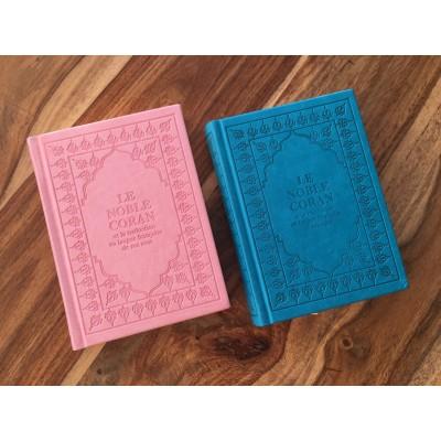 Coran de Poche Arabe/Français ( 4 Couleurs au choix ) Lecture Hafs -Sana -