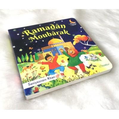 Ramadân Moubârak (livre avec pages cartonnées)