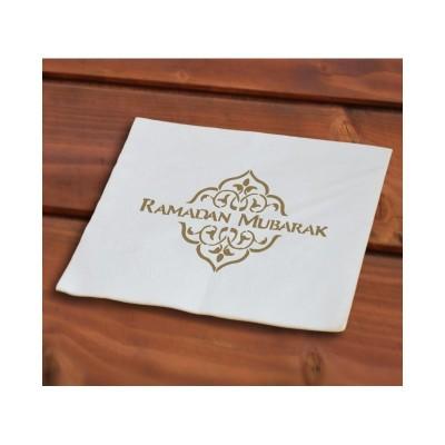 Serviettes en papier Ramadan or (40 pièces)