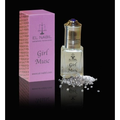 Parfum Girl Musc (Enfants) El Nabil - 5ml