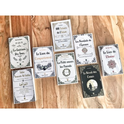 """Pack """" Réforme """" Muslimlife en 8 livres"""