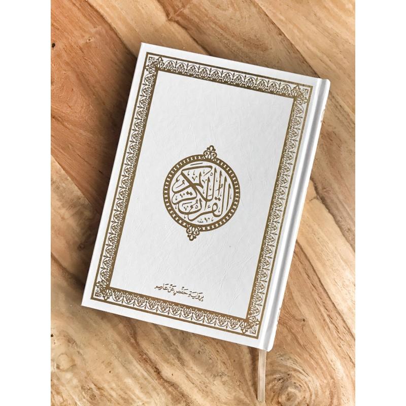 Grand coran Perl d'or en arabe