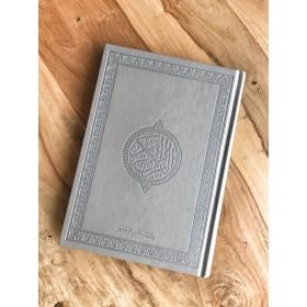 Coran perle ( argenté taille moyen )