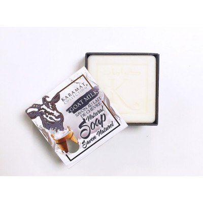 SAVON AU LAIT DE CHÈVRE 125G – KARAMAT COLLECTION